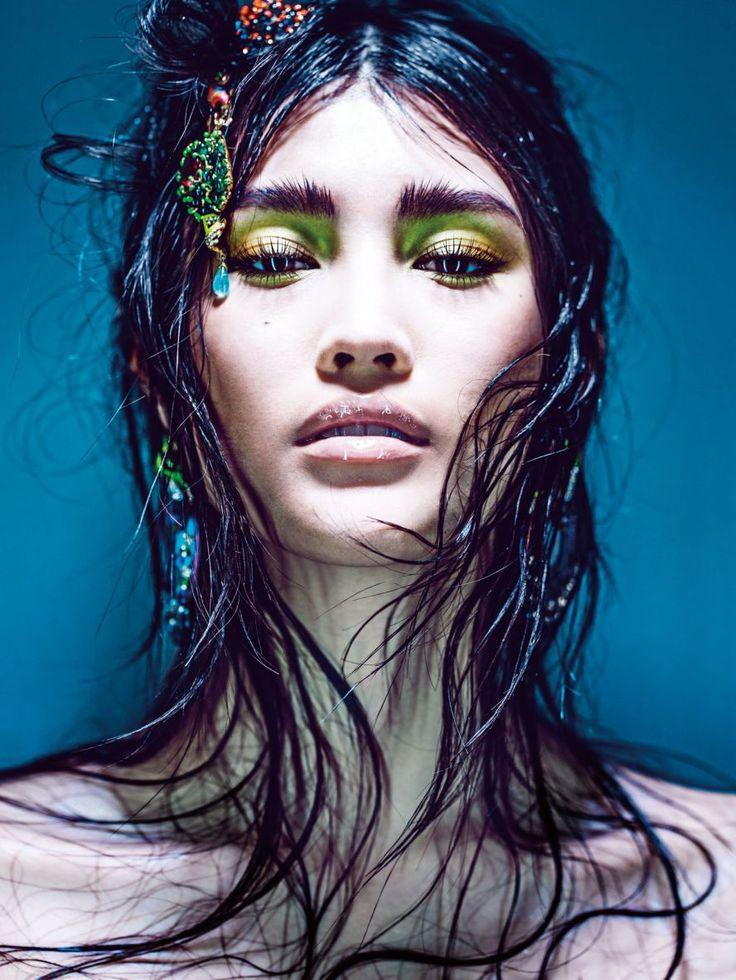 31 best Liu Wen images on Pinterest Liu wen, Models and Asian beauty
