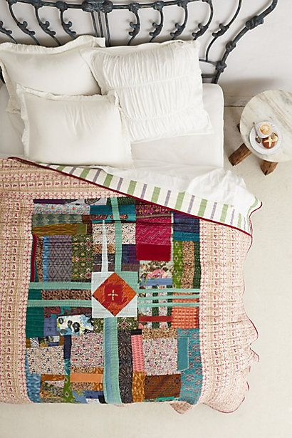 no more boring bedding brighten things up with bohemian printed quilts and coverlets