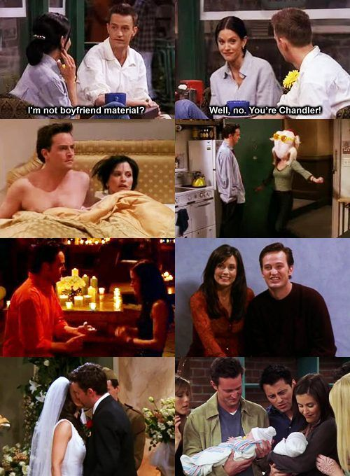 Monica & Chandler!