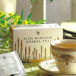 ALOE VERA RAGUSA FOREVER LIVING PRODUCTS: TISANA ALOE BLOSSOM HERBAL TEA FOREVER ITALIA