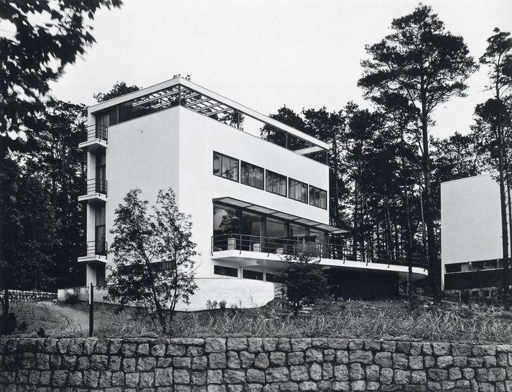 hans and wassili luckhardt with alfons anker villa kluge berlin 1928 architecture. Black Bedroom Furniture Sets. Home Design Ideas