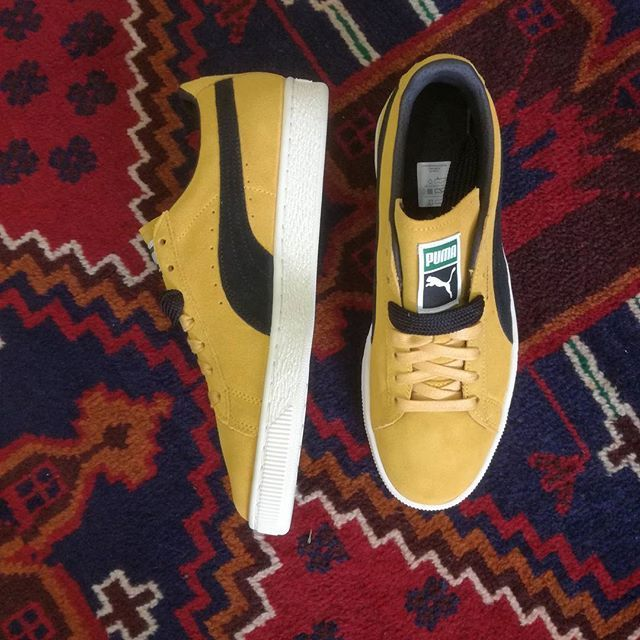 6179c4a6579eb1  puma  suede  classic  archive  mineral  yellow  spring  collection landed   DenimLounge where  Urban  Slackers meet  streetwear  fashion in  Ioannina    ...