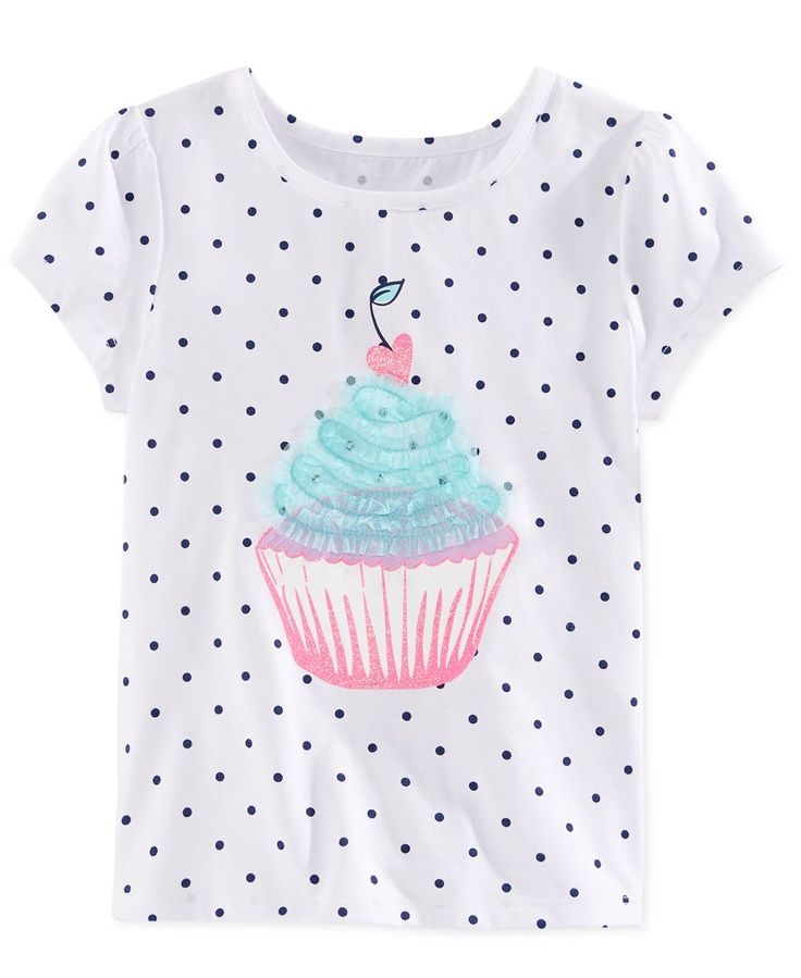 Epic Threads Little Girls' Cupcake T-Shirt