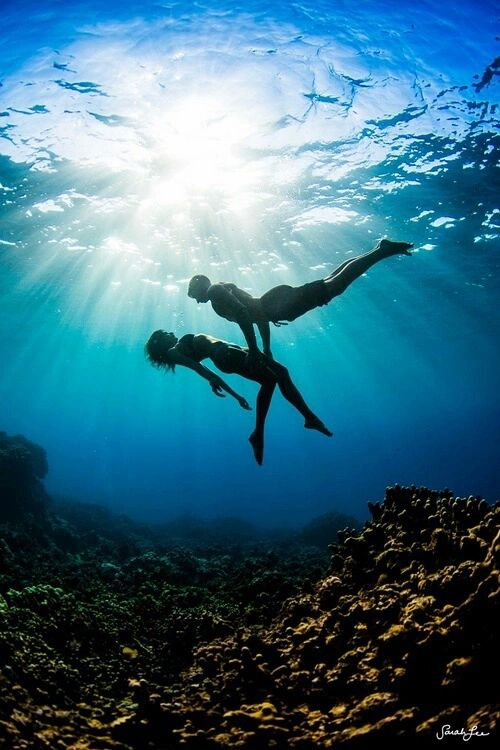 ♥I want to take you with me to the depths of the ocean and become one...♥