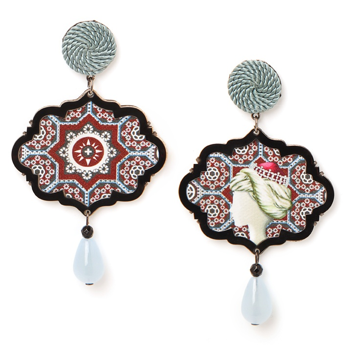 From the Marco Polo collection...the Sultana earrings! #marcopolo www.annaealex.com