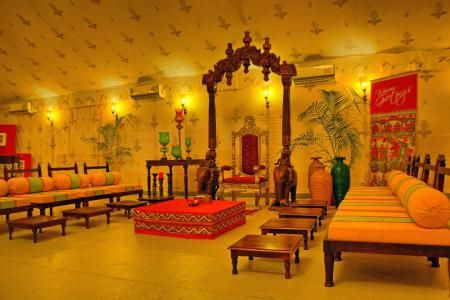 Indian theme royal wedding tents