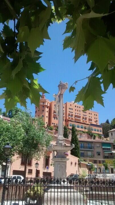 Hotel Palace desde el Campo del Principe en Granada / Places in Andalucía, by @AngelGranaino