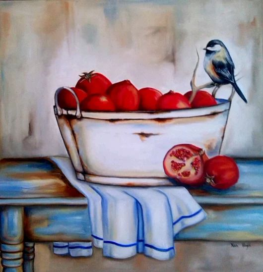 """RUSTIC SILENCE"" - Oil painting by XAN VIRGILI - ORIGINAL SOLD"