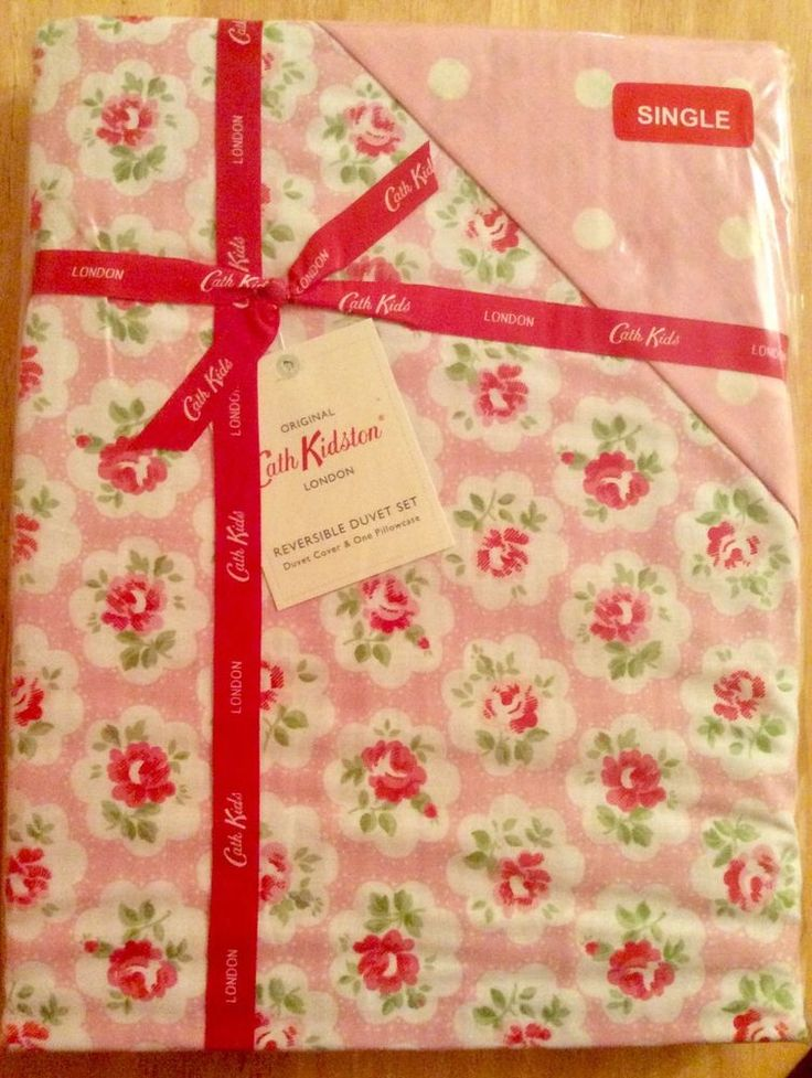 CATH KIDSTON 'PROVENCE ROSE' PINK SINGLE DUVET COVER ULTRA RARE DISCONTINUED