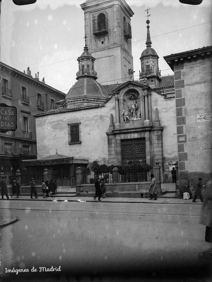 La iglesia de San Sebastián  entre 1927-36 O.Wunderlich