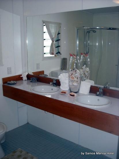 Samoa Marina Hotel Bathroom #samoa