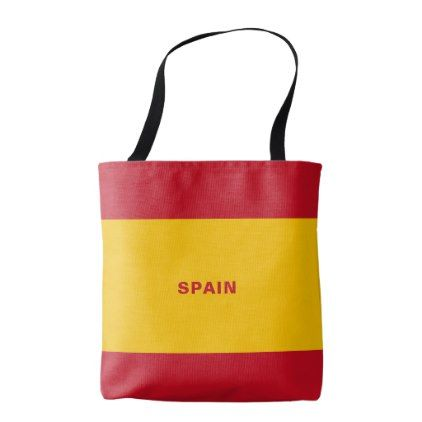 Best 25 spain flag ideas on pinterest flag in spanish spanish spain flag tote bag 2095 by azdesign cyo customize personalize unique diy idea solutioingenieria Image collections