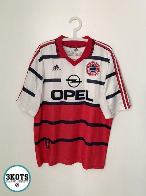 87be4e475 BAYERN MUNICH 1998 99 Away Football Shirt (XL) Soccer Jersey Vintage ADIDAS   ADIDAS  Jerseys  BayernMunich  Soccershirts  Footballshirts