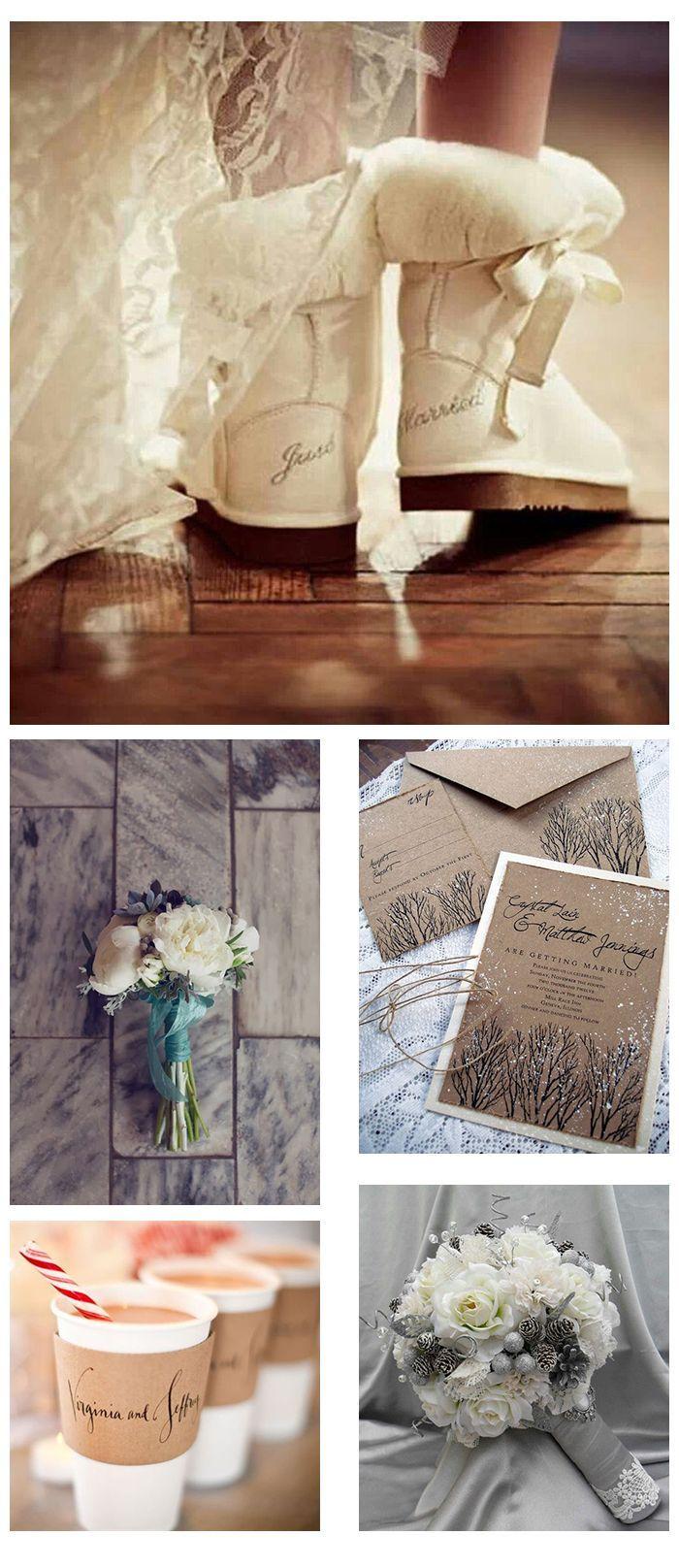 Inspirationsboard Winter wedding «in wedding fever