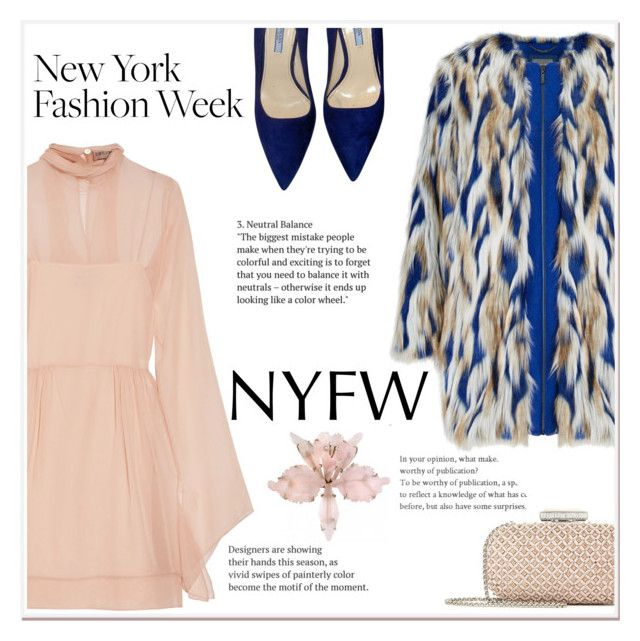"""Pack for NYFW"" by ladydzsen ❤ liked on Polyvore featuring Emilio Pucci, Oscar de la Renta, Prada and NYFW"