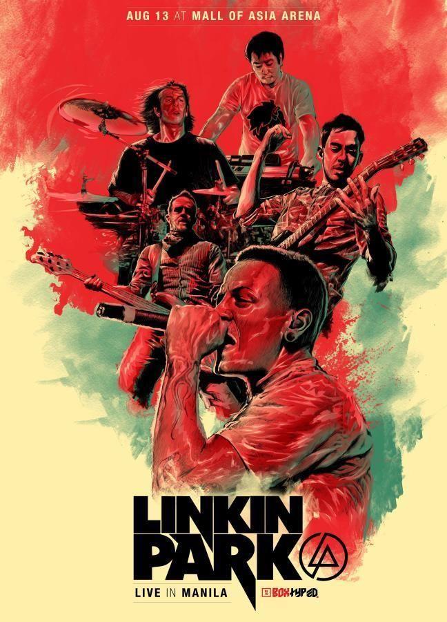 Music Rock Band Of American USA Linkin Park LP Decor Poster 18x12 36x24 40x27