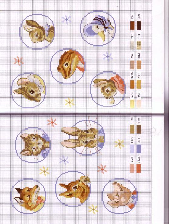 Gallery.ru / Photo # 30 - Le monde de Beatrix Potter - Orlanda click through for a full book of patterns
