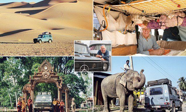 Adventurer finishes 24-year road trip around the world in same car