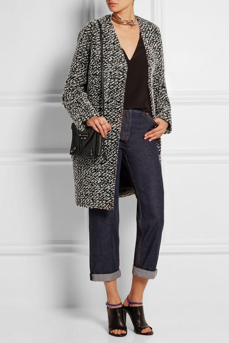 Balenciaga | Wool-blend bouclé-tweed coat | NET-A-PORTER.COM