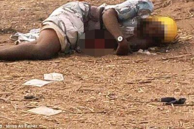 Female Suicide Bomber Lynched By Angry Mob After Her Bomb Vest Failed