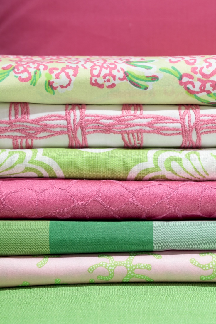 Lilly Pulitzer Collection For Lee Jofa Pink And Green