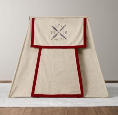 via BKLYN contessa :: 75x40 dimensions for a bed tent