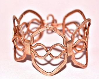 Copper bracelet medieval crown