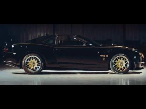 Burt Reynolds Introduces the NEW Bandit Trans Am...snowflake wheels...only 77 made...OMG! 840 HP...yes please