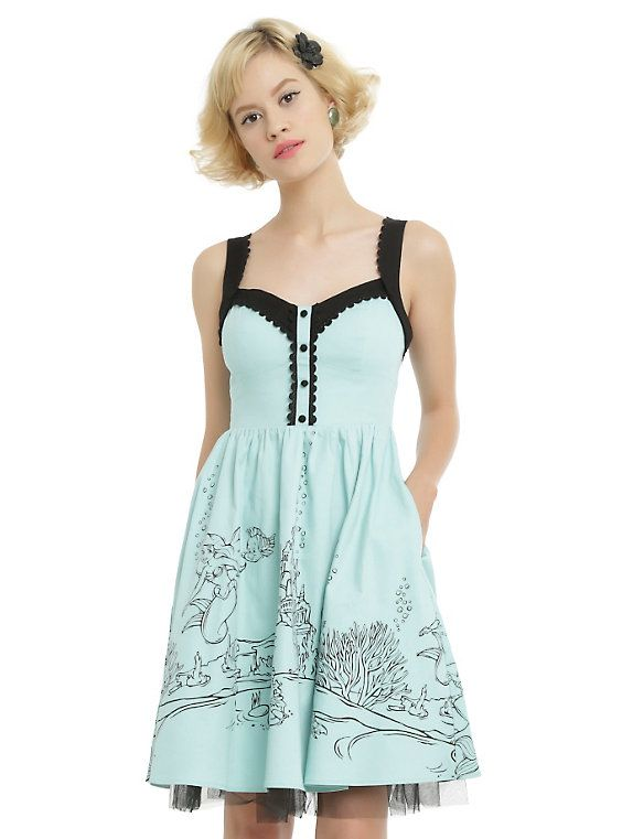 OUT OF Size - Online exclusive Disney The Little Mermaid Ariel Swing Dress $64.50 $51.60 = 84$ 67$