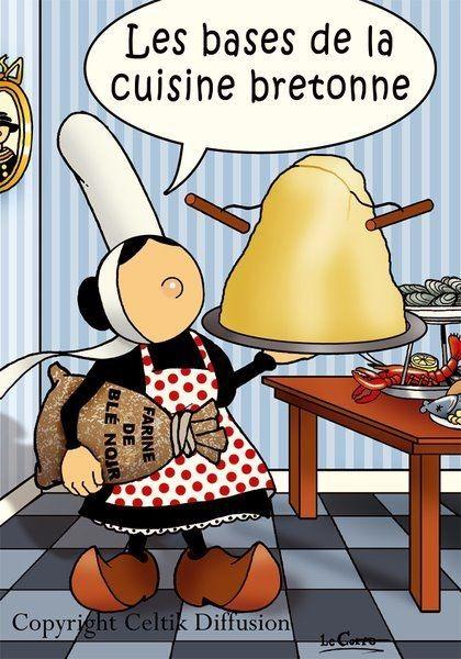 Bases de la cuisine bretonne,,,YES LE BON BEURRE SALE,,,MEME DANS MES PATISSERIES ,,,,**+