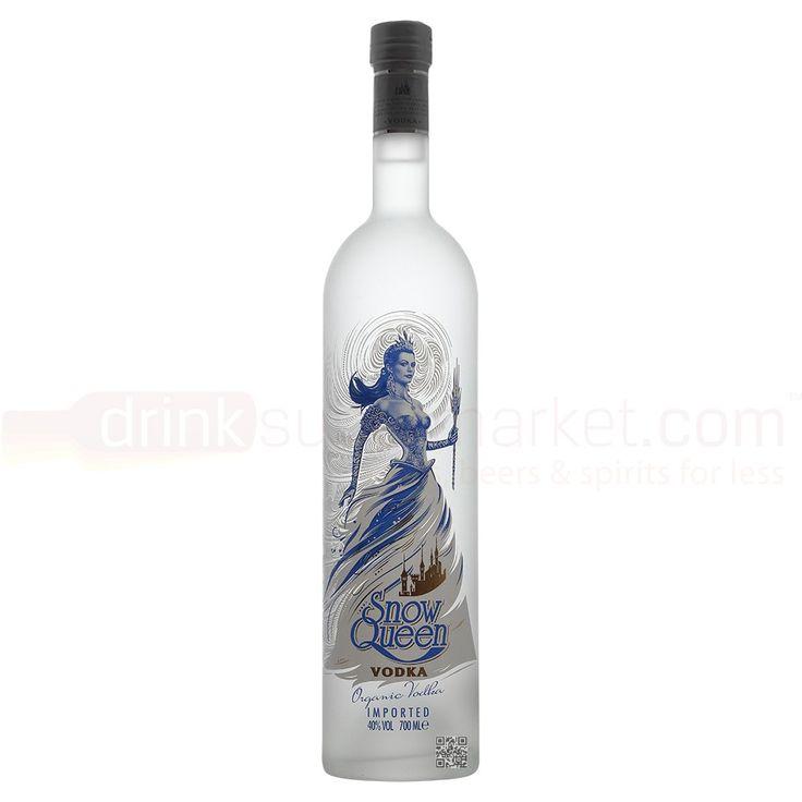 Snow Queen Kazakhstani Organic Plain Wheat Vodka 70cl 40% ABV