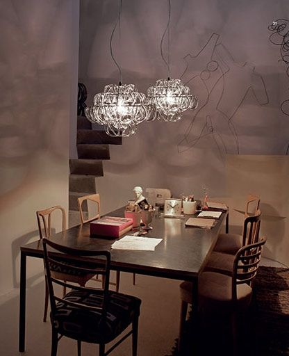 Mini Giogali SP 35 Chandelier by Vistosi #modern #chandelier #vistosi
