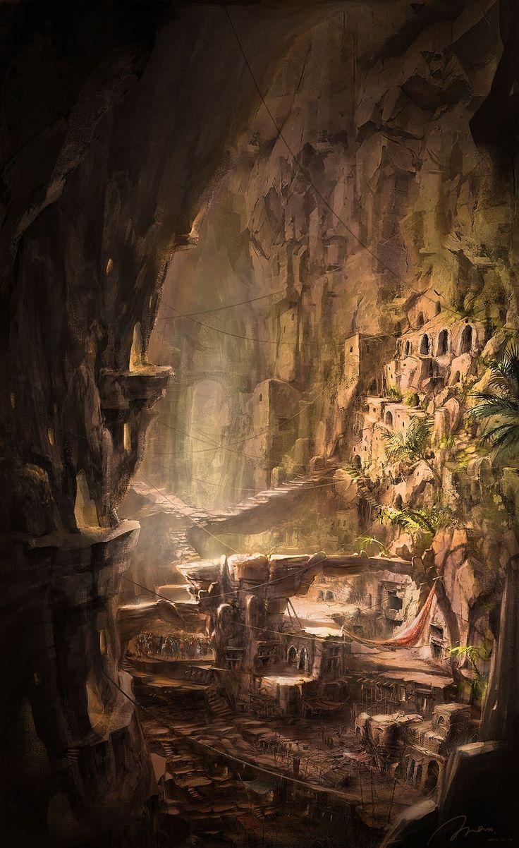 16 Doren, ciudad subterranea de Ritroir. Sus habitantes viven de las abundantes minas de los alrededores aunque casi todas las personas son pobres y viven en situaciones insolubres que las hacen enfermar y morir.