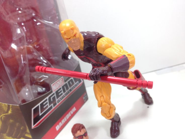Marvel Legends First Apperance Daredevil Toy Review - http://www.comics2film.com/marvel/superheroes/daredevil/marvel-legends-first-apperance-daredevil-toy-review/  #marvel #dc