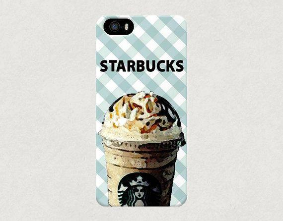 Starbucks Coffee Frappuccino Frappe iPhone 4 4s 5 5s 5c Samsung Galaxy S3 S4 Case £12.80 $21.00