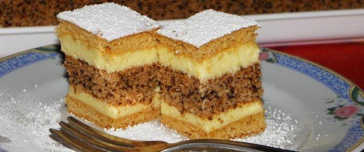 Recept: A dió és a vanília mennyei találkozása, ezt a sütit mg kell sütnöd