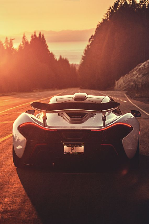 Hate to see you go, but love to watch you drive away. #McLaren