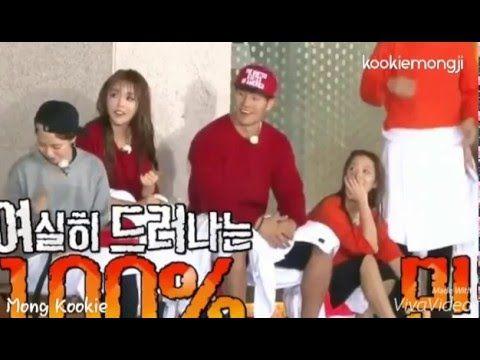 SpartAce (Song Ji Hyo & Kim Jong Kook) - Hidden Love in Running Man Ep 299