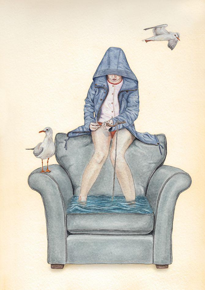 Tahel Maor, un ilustrador alucinante que apenas descubro// Tahel Maor, a brilliant illustrator that I just discovered.