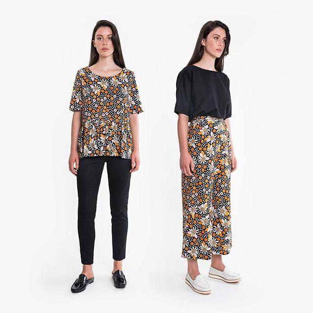MARAKUYA IS HERE! Grab the TOP PANT and SHIFT instore and online now. (Bomber jacket next week!) #obus #obusclothing #obusfortheladies #marakuyaprint #marakuya #twentyyearsofobus #colour #textiledesign #originaldesign #designedinmelbourne #madeinmelbourne #aw18 #autumn18 #llamadress #buywellbuyonce