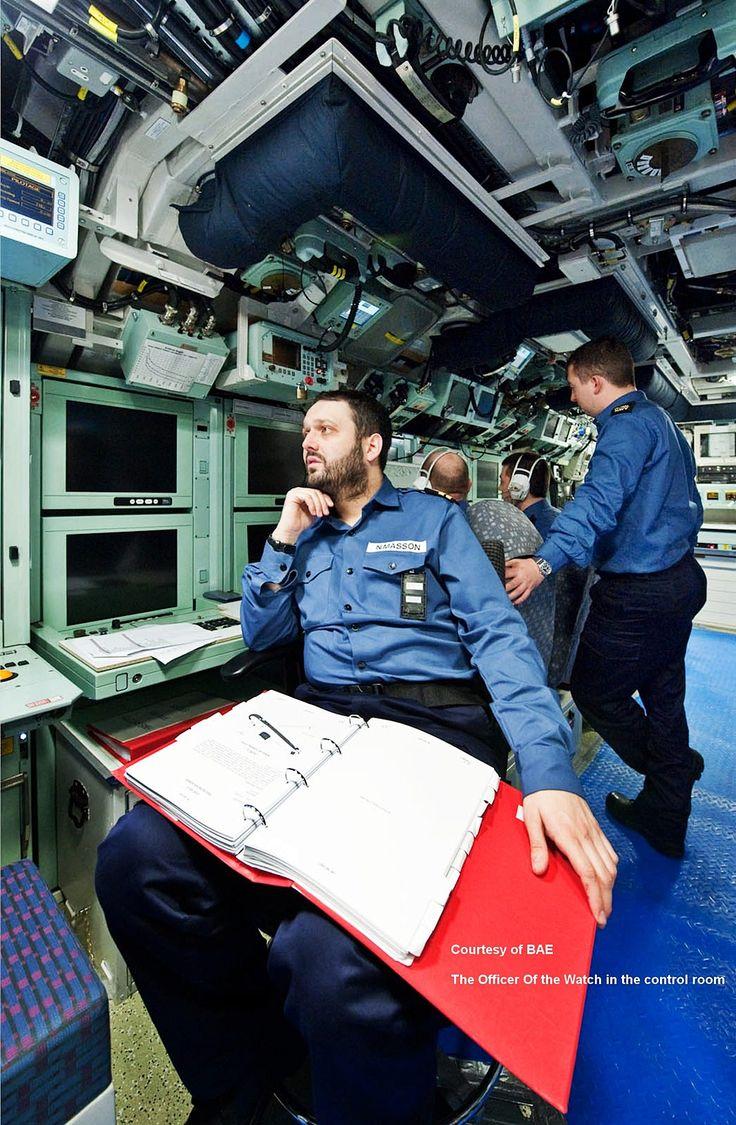 Aircraft Carrier Engine Room: Control Room HMS Astute