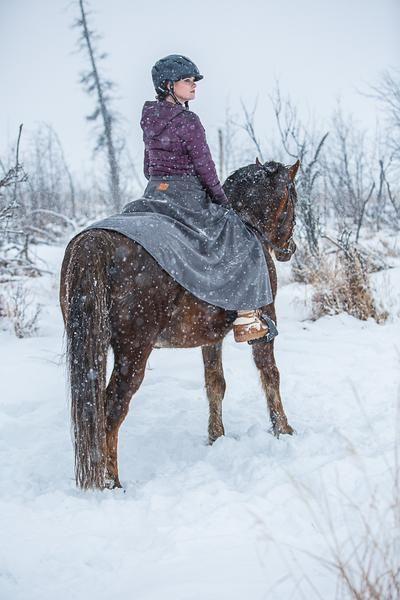 6fcb47521 Arctic Horse Tongass Rain riding skirt riding breeches rain pants skirt  horse riding trail riding