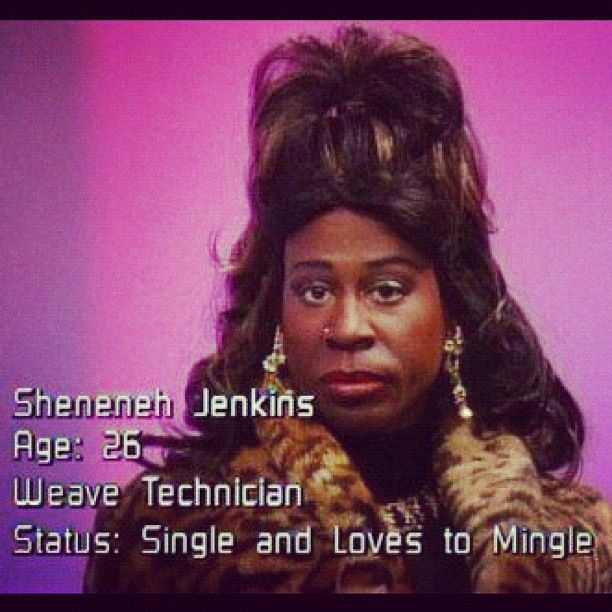 MARTIN LAWRENCE TV SHOW Sheneneh JENKINS~ LOL  I always knew Martin Lawrence would become big time~always! He's my favorite! :)