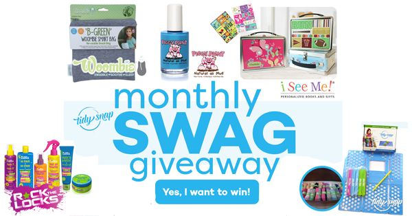 http://upvir.al/ref/C9516588/PRIZES: Woombie BGreen Snack Bags, Rock the Locks Eco Hair Products for kids, Piggy Paint eco, non-toxic nail polish, I SEE ME! Books lunchbox and stickers, and a Tidy Snap Kit to keep your clothes organized! Look for a secret message after you enter to see how to win a $100 Target Gift Card :-) Happy Friday! #giveaway #woombie #rockthelocks #piggypaint #tidysnap #ISEEMEBooks