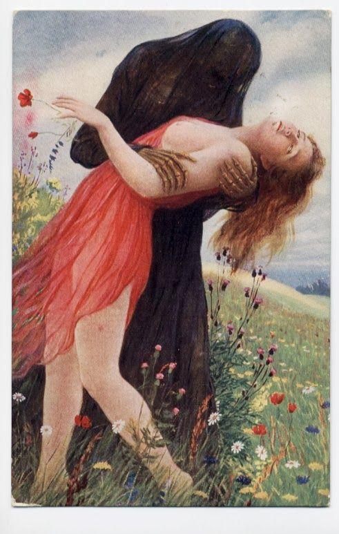 Adolf Hering, Death and the Maiden (Der Tod und das Mädchen) 1900