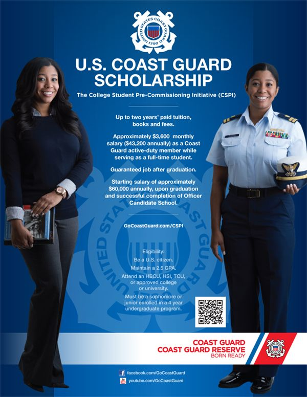 The United States Coast Guard #USCG becomes a new sponsor with #BDPA and its student members.  Visit www.bdpatoday.org for more information about exciting college programs and new technical careers.