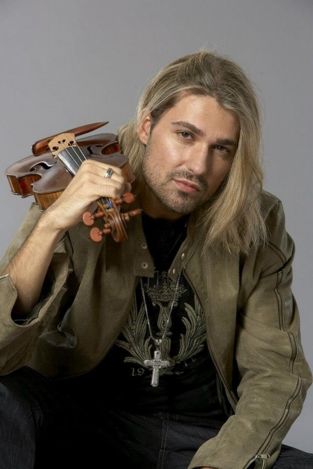 David Garret........one of the world's most awesome violin players