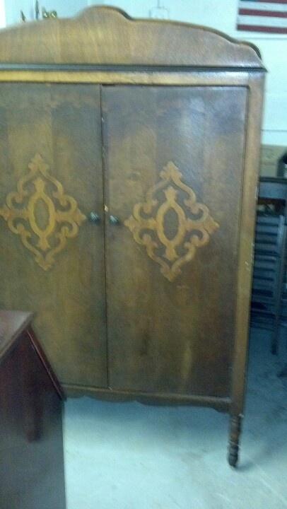 Armoire found at Seek N Find Treasures in Shrewsbury, PA
