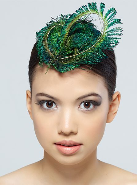 feather fascinator - Google Search