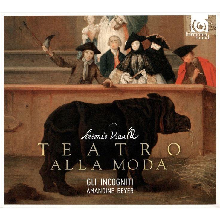 Vivaldi & Gli Incogniti & Amandine Beyer - Il Teatro Alla Moda (CD)